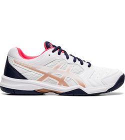 Tenis-asics-para-mujer-Gel-Dedicate-6-para-tenis-color-blanco.-Lateral-Externa-Derecha