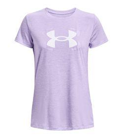 Camiseta-Manga-Corta-under-armour-para-mujer-Tech-Twist-Graphic-Ssc-para-entrenamiento-color-morado.-Frente-Sin-Modelo