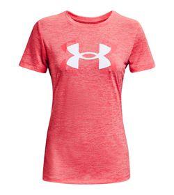 Camiseta-Manga-Corta-under-armour-para-mujer-Tech-Twist-Graphic-Ssc-para-entrenamiento-color-naranja.-Frente-Sin-Modelo