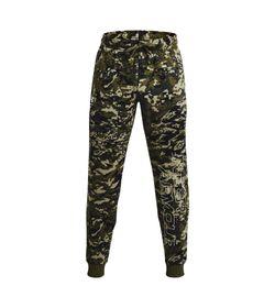Pantalon-under-armour-para-hombre-Ua-Rival-Flc-Camo-Script-Jgr-para-entrenamiento-color-verde.-Frente-Sin-Modelo