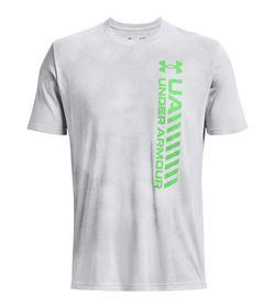 Camiseta-Manga-Corta-under-armour-para-hombre-Ua-Vrtcl-Afterburn-Echo-Ss-para-entrenamiento-color-gris.-Frente-Sin-Modelo