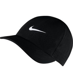 Gorra-nike-para-hombre-U-Nikecourt-Advantage-Cap-para-tenis-color-negro.-Frente-Sin-Modelo