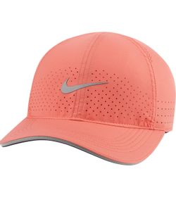 Gorra-nike-para-mujer-U-Nk-Df-Arobill-Fthlt-Perf-para-correr-color-naranja.-Frente-Sin-Modelo