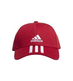 Gorra-adidas-para-hombre-Bball-3S-Cap-Ct-para-entrenamiento-color-rojo.-Frente-Sin-Modelo