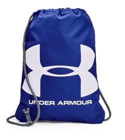 Gym-Sack-under-armour-unisex-Ua-Ozsee-Sackpack-para-entrenamiento-color-azul.-Frente-Sin-Modelo