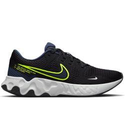 Tenis-nike-para-hombre-Nike-Renew-Ride-2-para-correr-color-negro.-Lateral-Externa-Derecha