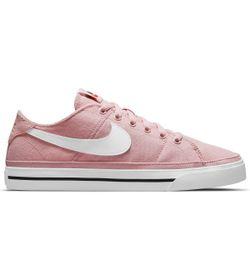 Tenis-nike-para-mujer-Wmns-Nike-Court-Legacy-Cnvs-para-moda-color-rojo.-Lateral-Externa-Derecha