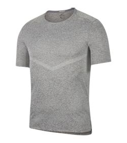 Camiseta-Manga-Corta-nike-para-hombre-M-Nk-Df-Rise-365-Ss-para-correr-color-gris.-Frente-Sin-Modelo