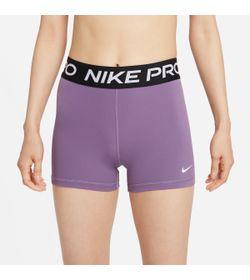 Pantaloneta-nike-para-mujer-W-Np-365-Short-3In-para-entrenamiento-color-morado.-Frente-Sin-Modelo