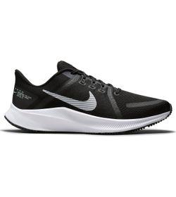 Tenis-nike-para-hombre-Nike-Quest-4-para-correr-color-negro.-Lateral-Externa-Derecha