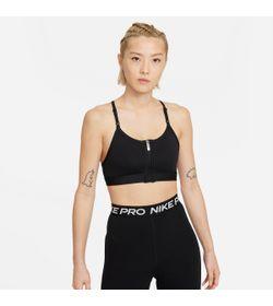 Top-nike-para-mujer-W-Nk-Df-Indy-Zip-Front-Bra-para-entrenamiento-color-blanco.-Frente-Sin-Modelo