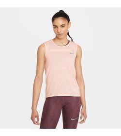 Camiseta-Manga-Sisa-nike-para-mujer-W-Nk-Df-Run-Dvn-Tank-para-correr-color-rosado.-Frente-Sin-Modelo